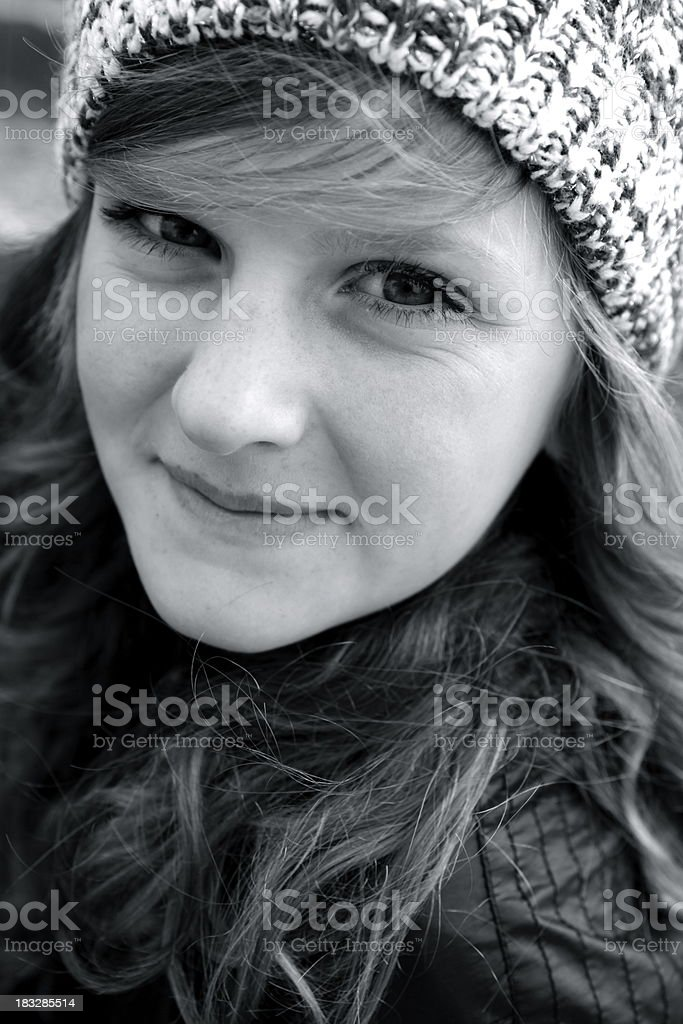 Beautiful Teen Girl Portrait royalty-free stock photo