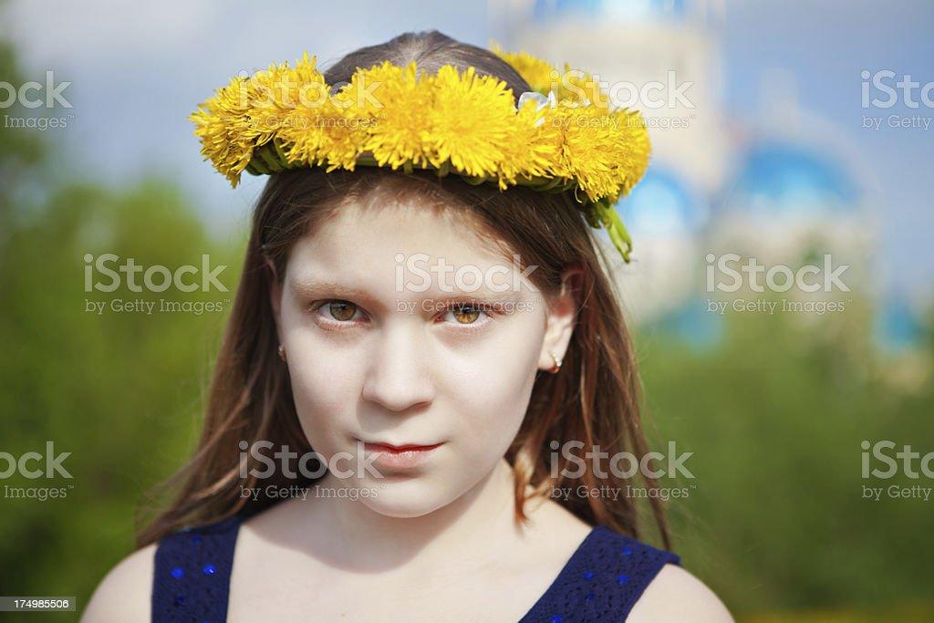 Beautiful teen's royalty-free stock photo