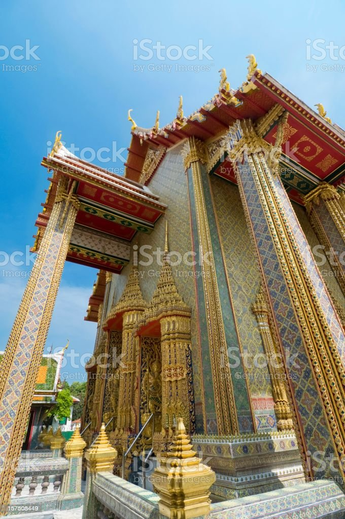 Beautiful temple in Thailand royalty-free stock photo