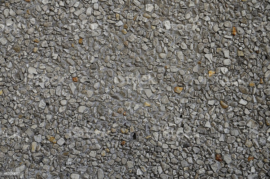 Beautiful texture from small rock on floor stock photo