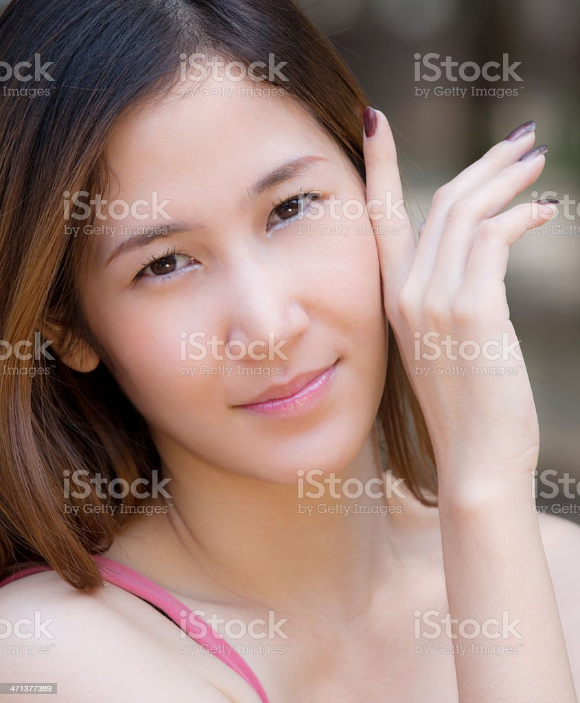 Beautiful Thai girl royalty-free stock photo