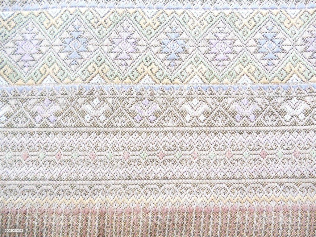 Magnifique Textile thaï photo libre de droits