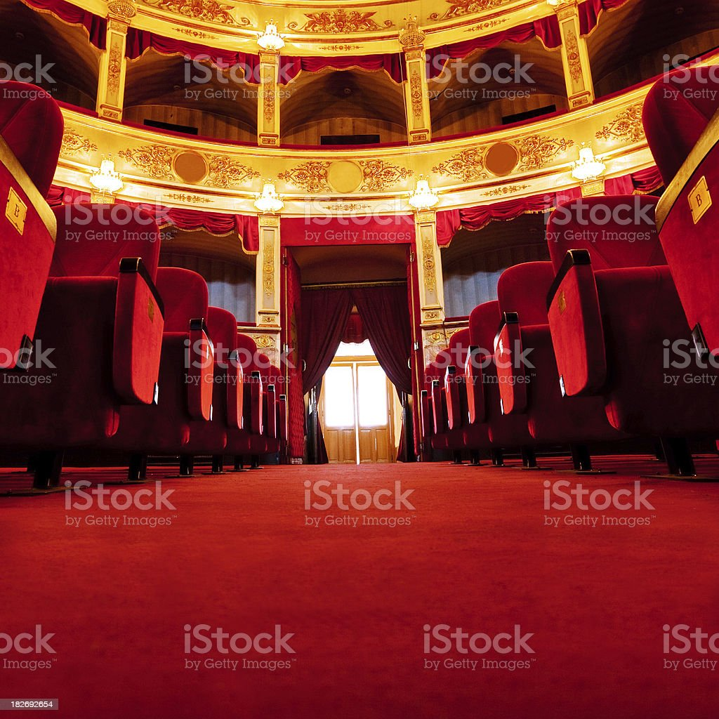 beautiful theatre royalty-free stock photo