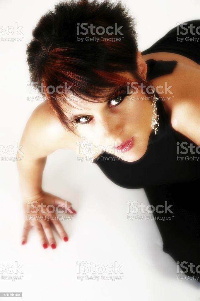 Beautiful Thirty Year Old Woman royalty-free stock photo