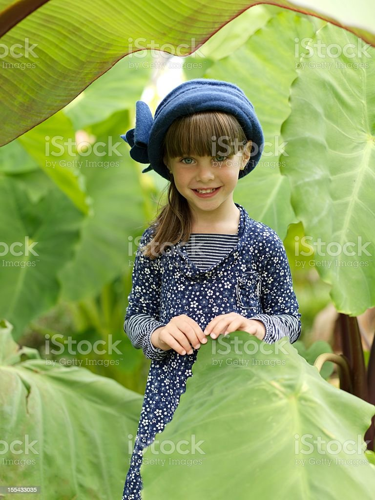 Beautiful Thumbelina stock photo