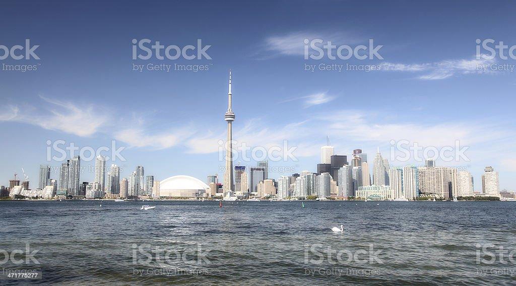 Beautiful Toronto Cityscape stock photo