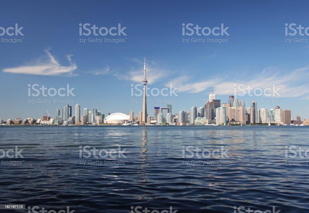 Beautiful Toronto Summer Cityscape stock photo