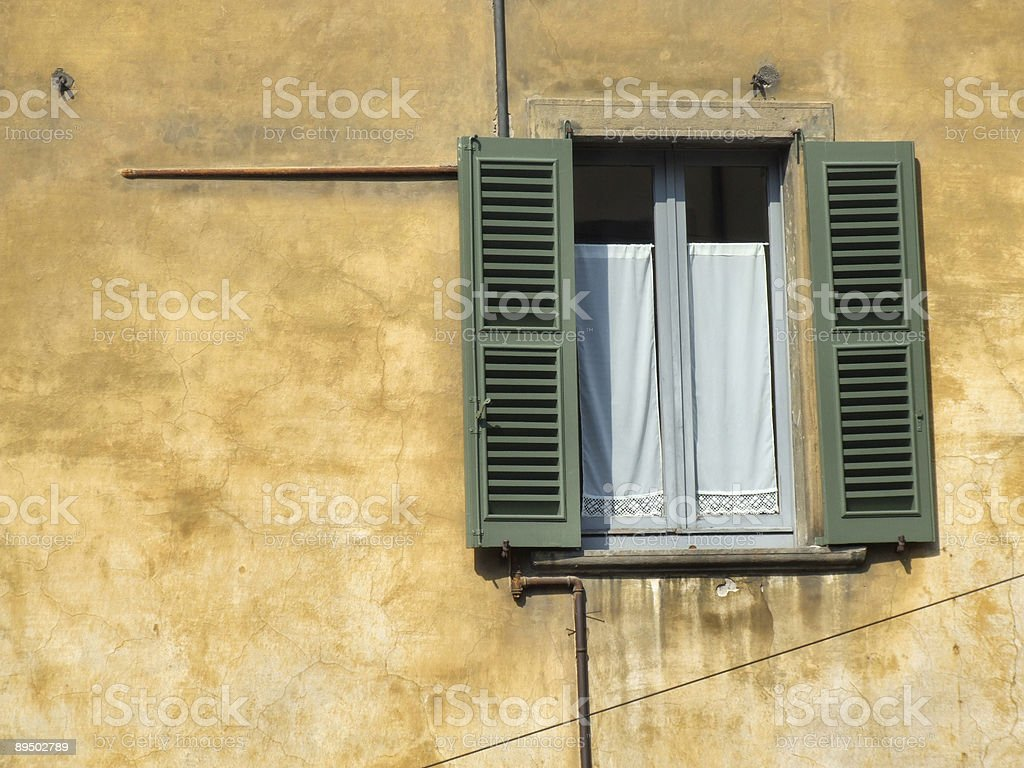 Beautiful townscape detail in Italy royalty-free stock photo