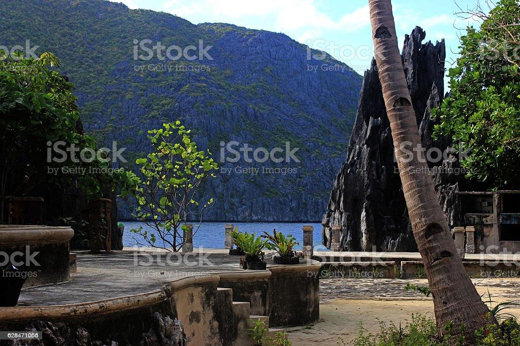 beautiful tropical island - El Nido, Philippines stock photo