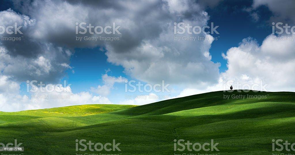 Beautiful Tuscany stock photo