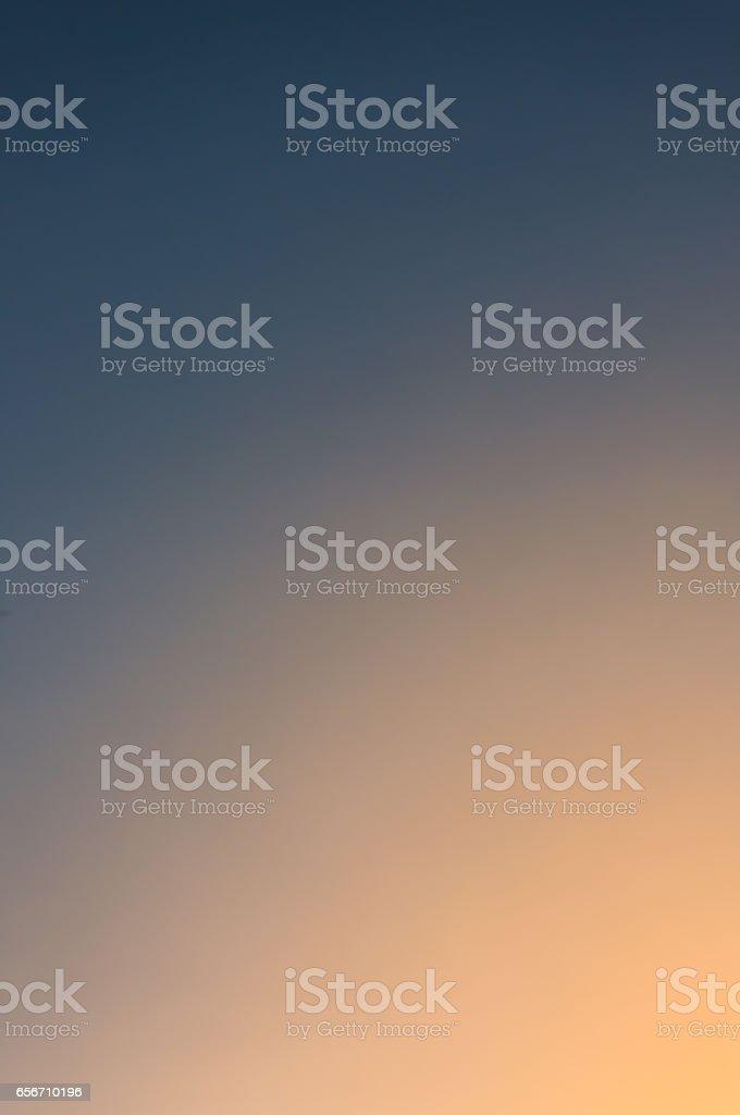 Beautiful twilight sky stock photo