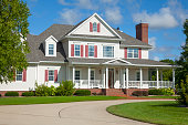 Beautiful two story country mansion home