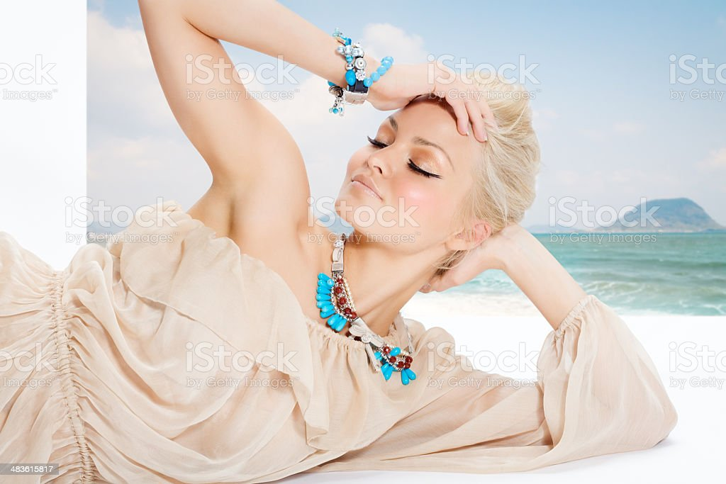 Beautiful Vacation royalty-free stock photo