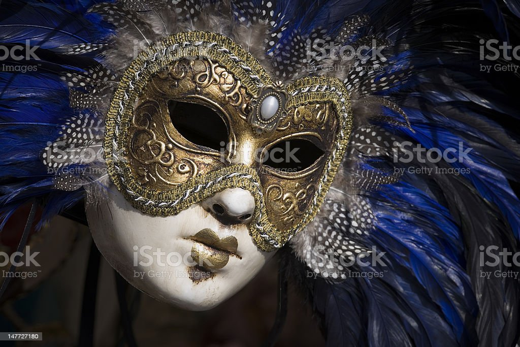 Beautiful Venetian mask (XXXL) royalty-free stock photo
