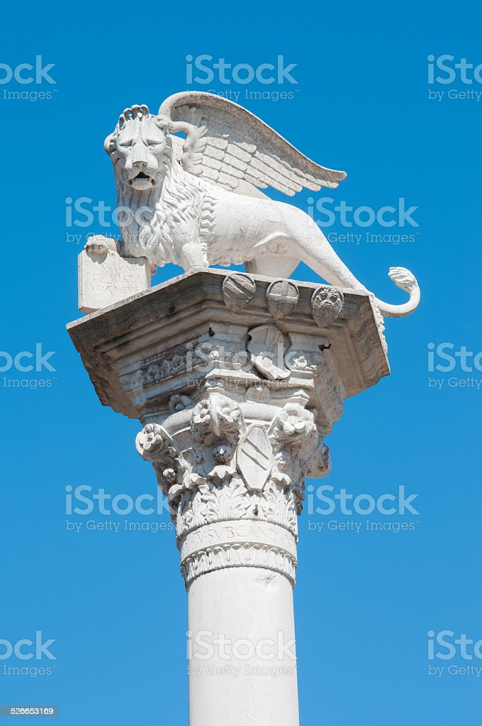 Beautiful Vicenza stock photo