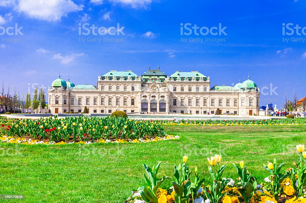 Beautiful Vienna,Austria stock photo