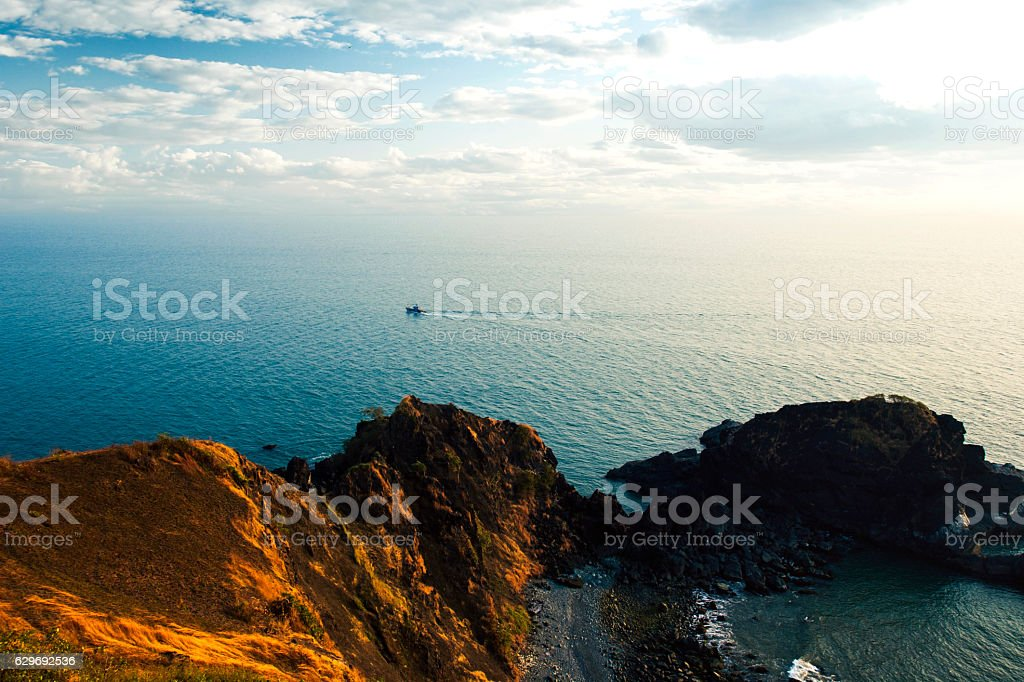 beautiful view from high, India stock photo