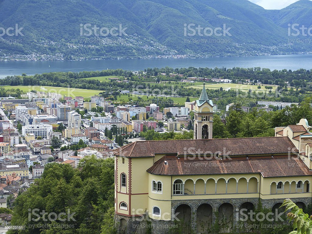 Beautiful view II stock photo
