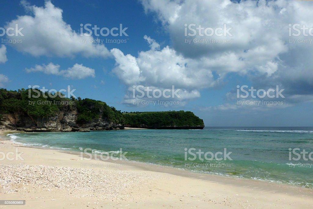 Beautiful view of Balangan Beach, Bali royalty-free stock photo