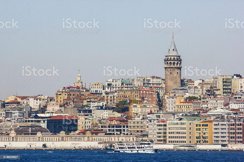 Beautiful view of Istanbul stock photo