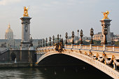 A beautiful view of Pont Alexandre III