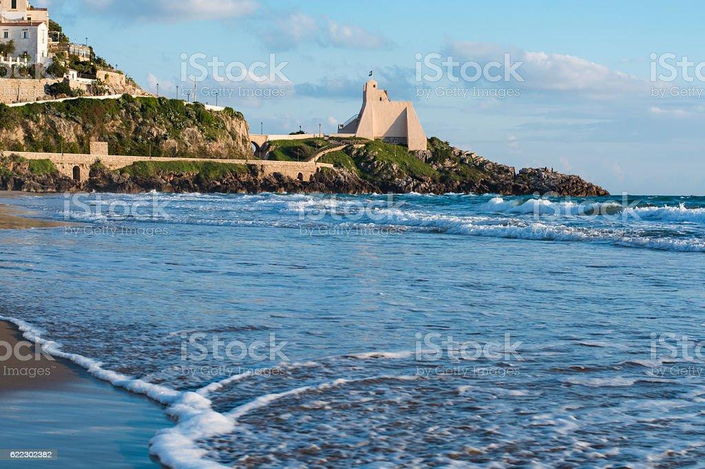 Beautiful View of seascape stock photo