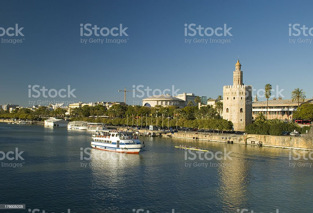 Beautiful view of Seville royalty-free stock photo