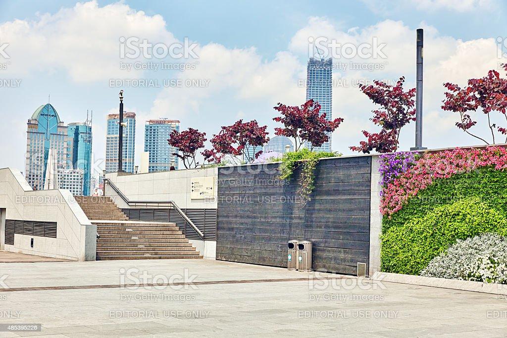 Beautiful view of Shanghai stock photo
