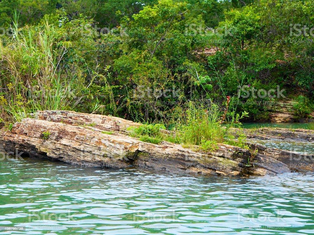 Beautiful view of the Rio Grande. stock photo
