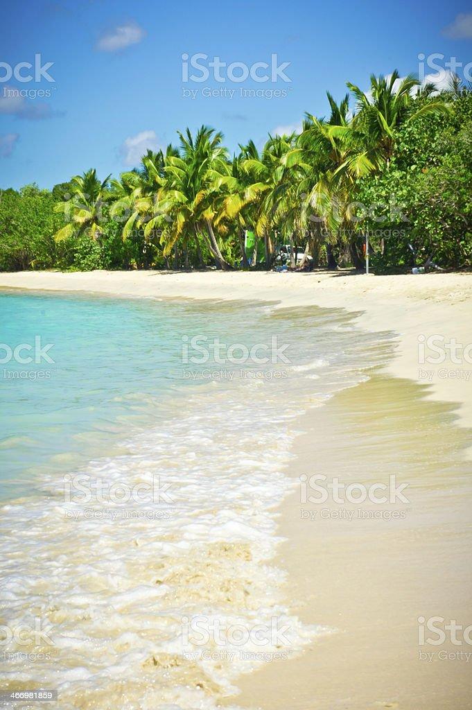 Beautiful view of Tortola, British Virgin Islands royalty-free stock photo