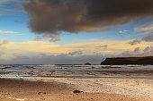 Beautiful view over the sea from Polzeath