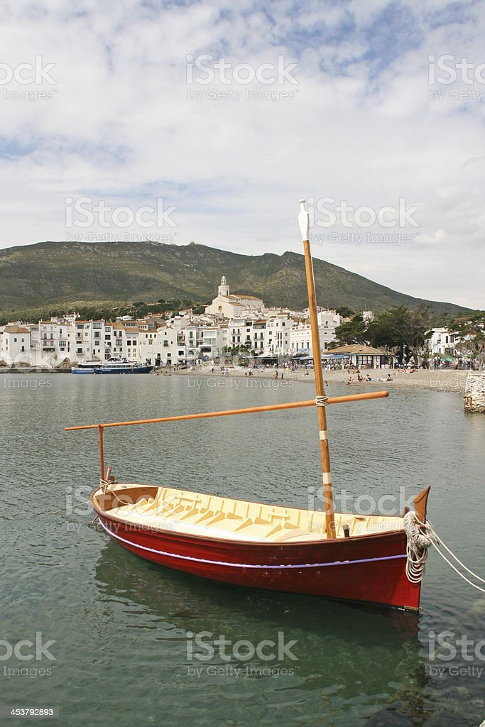 beautiful village of cadaques (Costa Brava, Spain). royalty-free stock photo