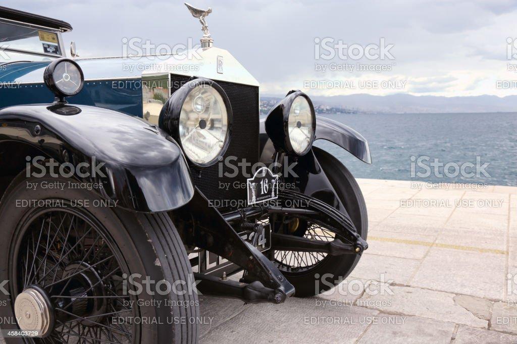 Beautiful vintage Rolls Royce royalty-free stock photo