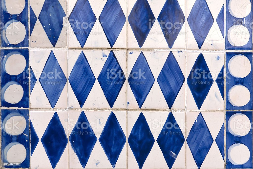 Beautiful Vintage Tiles royalty-free stock photo