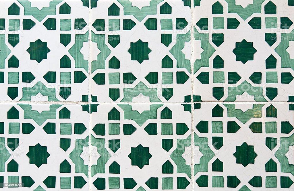 Beautiful Vintage Tiles royalty-free stock photo