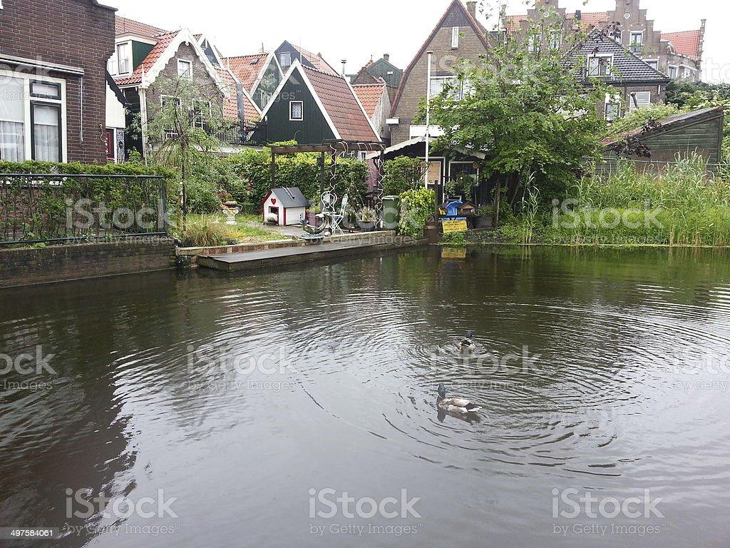 Beautiful Volendam stock photo