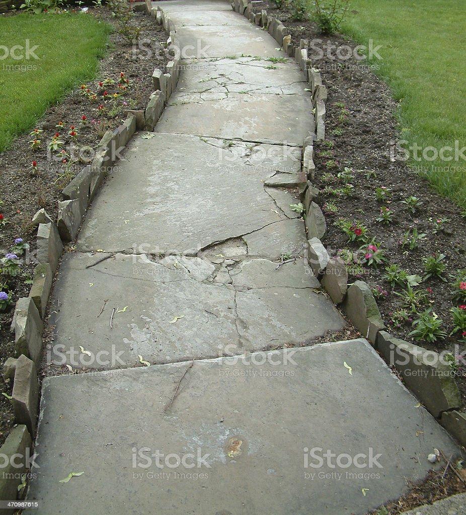 Beautiful Walkway. royalty-free stock photo