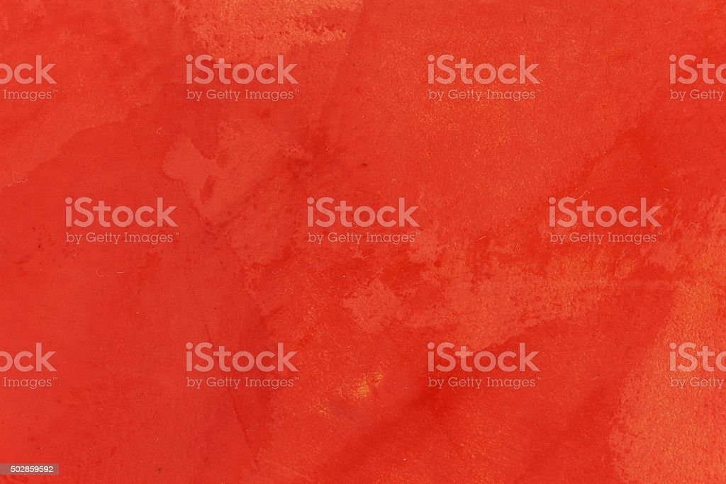 Beautiful wall design with red putty. stock photo