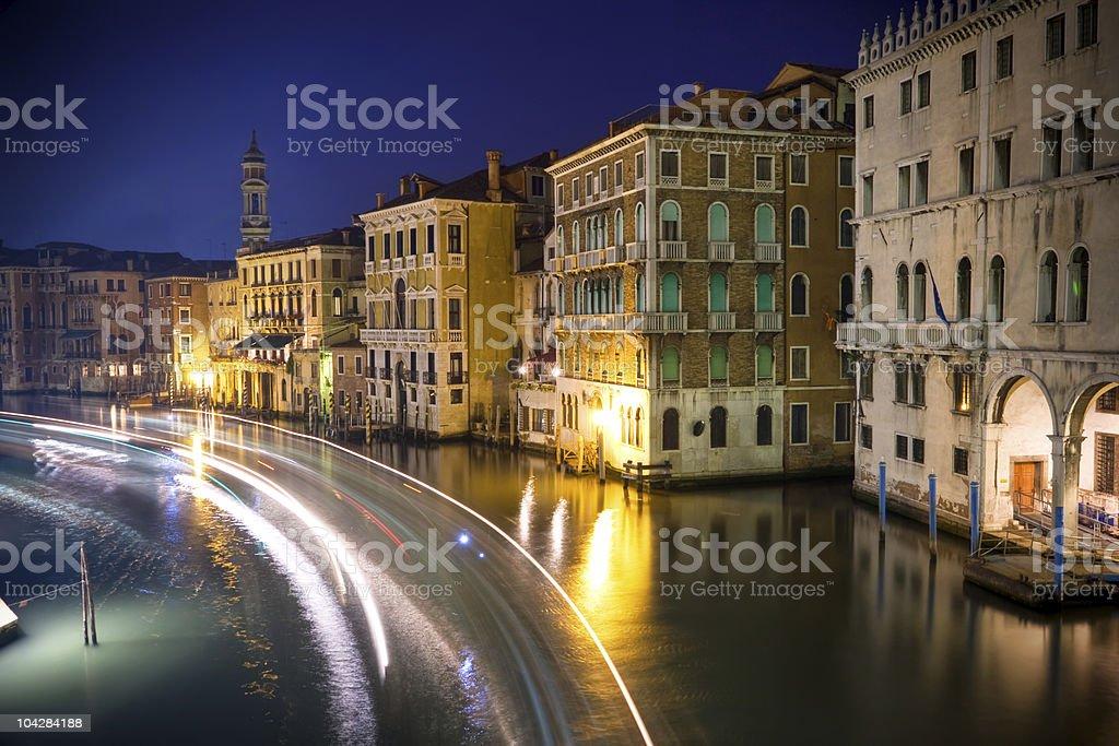 Beautiful water street royalty-free stock photo