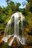 Beautiful Waterfall in Soroa, Viñales, Cuba
