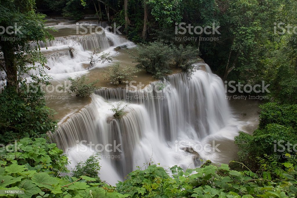 Beautiful waterfall, Thailand royalty-free stock photo
