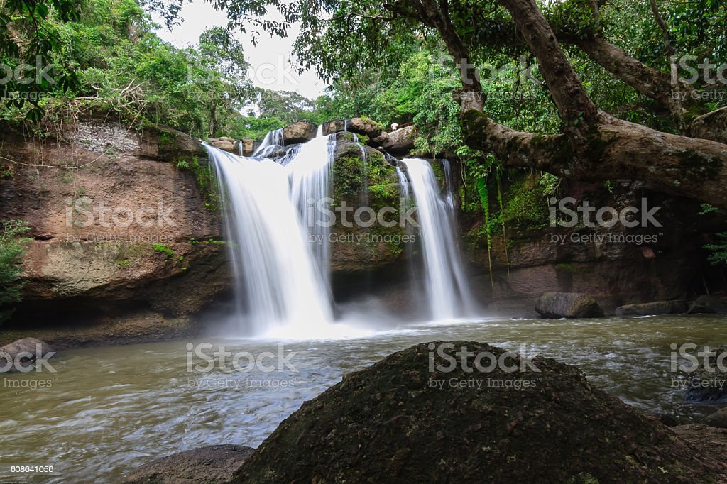 beautiful waterfalls stock photo