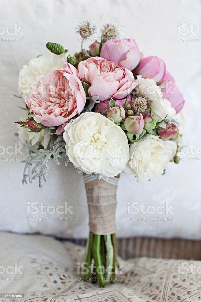 Beautiful Wedding Bouquet stock photo
