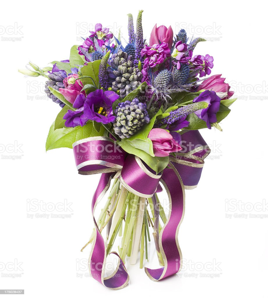 Beautiful wedding flower bouquet royalty-free stock photo