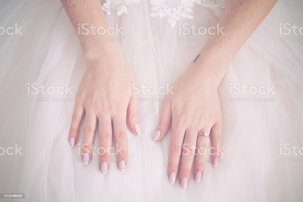 Beautiful Wedding Ring stock photo