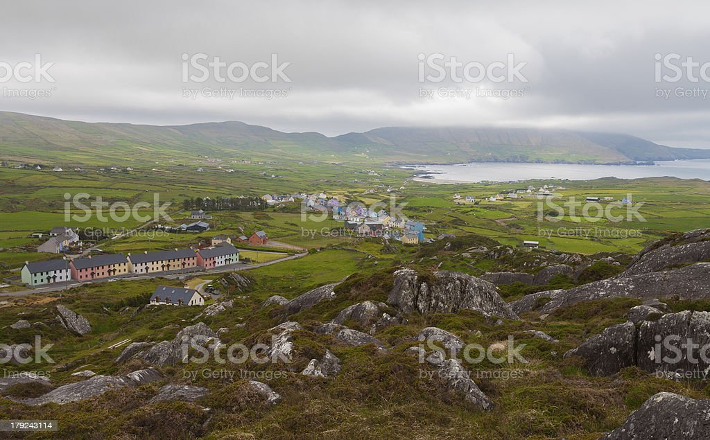 Beautiful West Cork on a Cloudy Day royalty-free stock photo