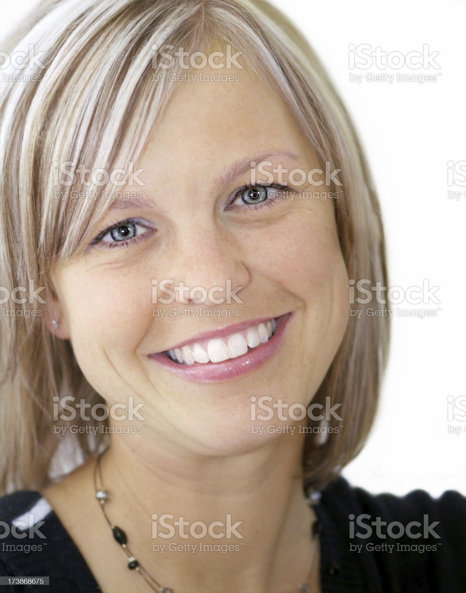 Beautiful White Smile royalty-free stock photo