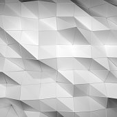 Beautiful white triangle abstract background
