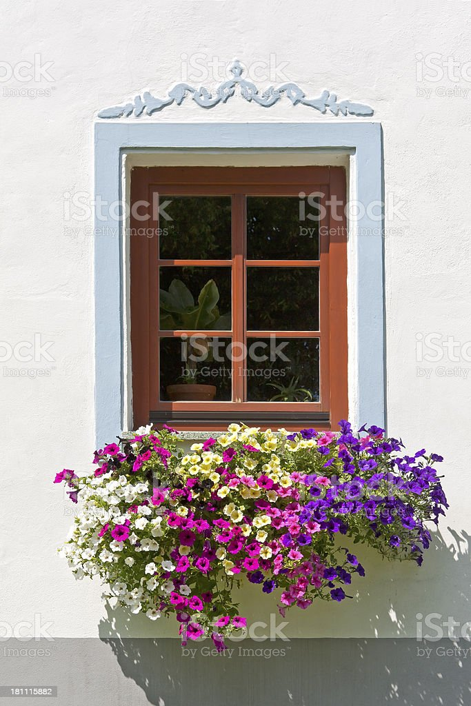 Beautiful window stock photo