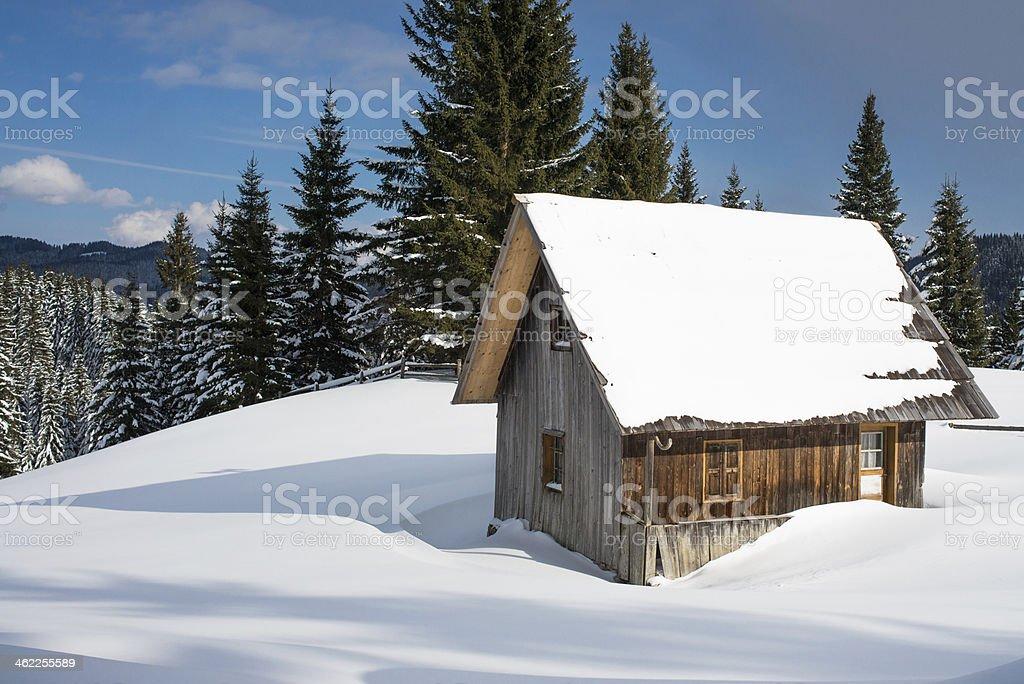 Beautiful Winter Landscape royalty-free stock photo